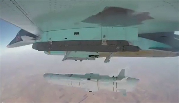 Tên lửa lưỡng tính Nga hủy diệt mục tiêu tại Syria