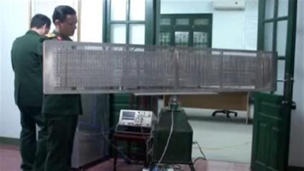 Radar thụ động RTH - Thành tựu quốc phòng Việt Nam 2018