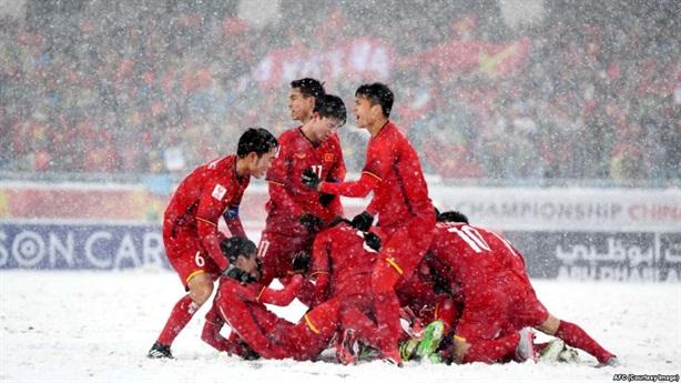 Bóng đá Việt tiến xa thế nào từ Thường Châu đến UAE