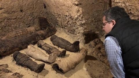 Phát hiện mê cung mộ cổ nhiều xác ướp kì lạ