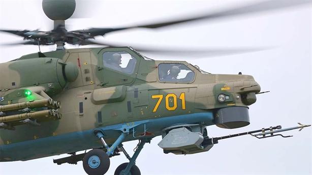 Nga nhận trực thăng mạnh hơn AH-64E Mỹ