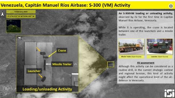 Venezuela dùng S-300VM khóa không phận từ hướng biển