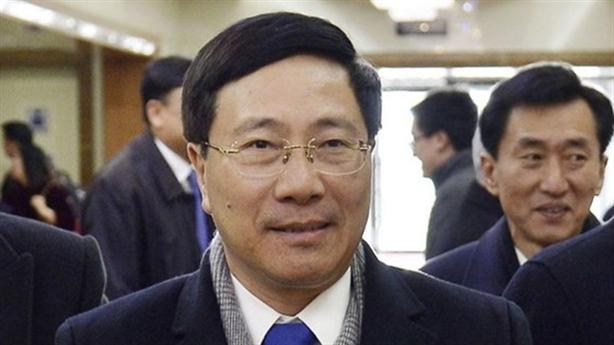 Phó Thủ tướng Phạm Bình Minh đến Triều Tiên