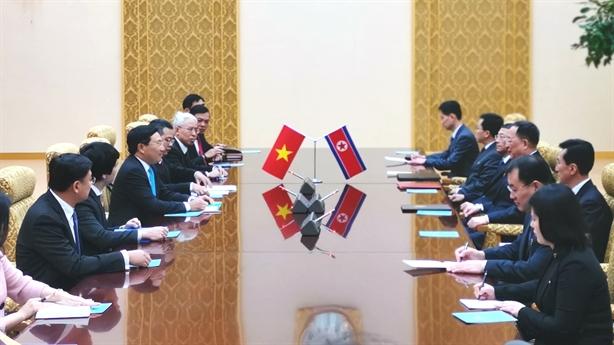 Phát biểu của Phó Thủ tướng Phạm Bình Minh tại Triều Tiên