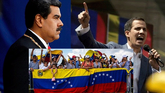 Mỹ thất bại khi 'bê' mô hình Maidan 2014 vào Venezuela 2019