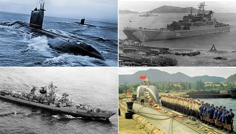 Tháng 2/1979: Hải quân Liên Xô giúp Việt Nam trấn Biển Đông