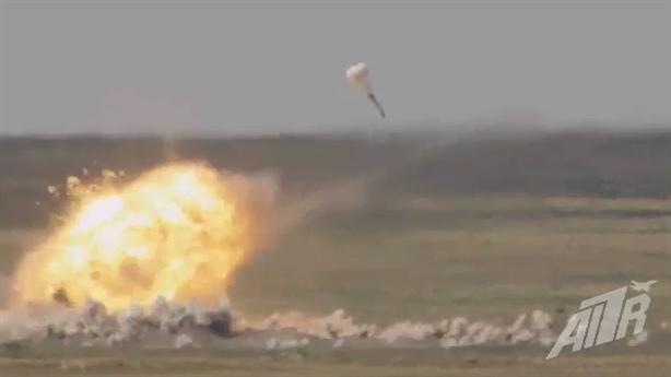 Nga khoe vũ khí phá hủy 50m2 bê tông