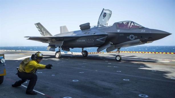 F-35B đã thực hiện hơn 100 phi vụ tấn công mặt đất