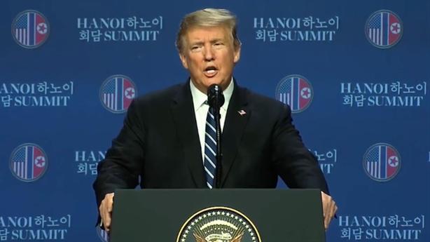Ông Trump: Chưa phải lúc kí kết nhưng không từ bỏ gì...