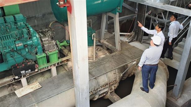 Đề nghị xây dựng đơn giá thuê máy bơm chống ngập