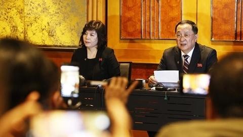 Họp báo giữa đêm: Triều Tiên nhắc lại đề xuất
