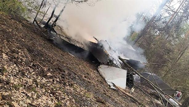 Tiêm kích MiG-29 Ba Lan đâm đầu xuống đất