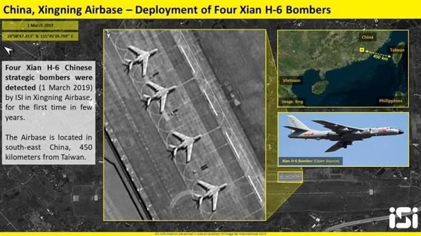 Máy bay chiến lược Trung Quốc bất ngờ tới Xingning