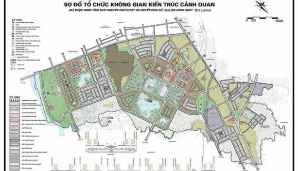 Thái Nguyên muốn đổi 29 ha đất lấy 900m đường: Đang chờ