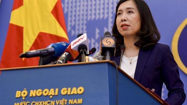 Việt Nam lên tiếng trước diễn biến ở đảo Thị Tứ