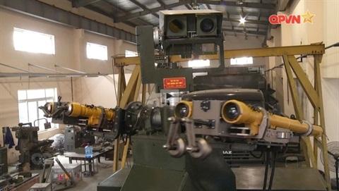 Phòng không tự hành Việt Nam sản xuất diệt mục tiêu