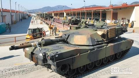 Mỹ bán cho Đài Loan 100 xe tăng M1A2X ?