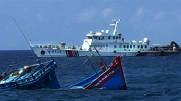 Đề nghị Trung Quốc xử nghiêm vụ tấn công tàu cá Việt