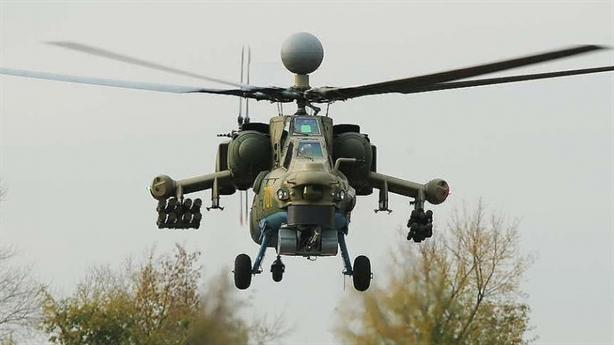 Mi-28NM bị giám sát chặt khi đến Syria
