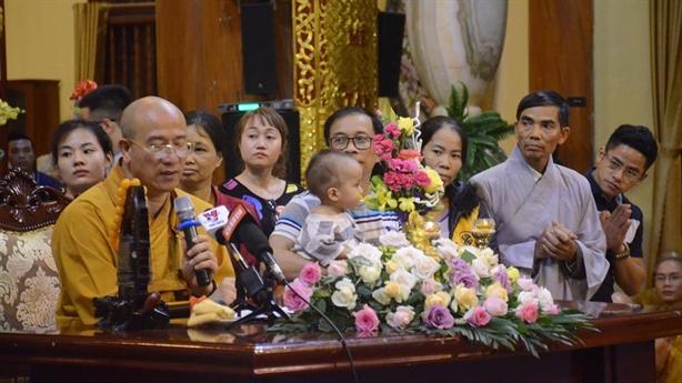 Trụ trì chùa Ba Vàng tiếp tục khẳng định sốc