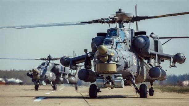 Trực thăng Nga mang bom FAB-500
