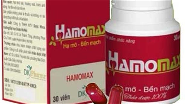 Bộ Y tế cảnh báo mua sản phẩm Hamomax