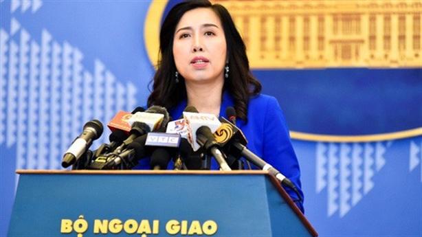 Phản đối Trung Quốc xây thành phố trên đảo Việt Nam