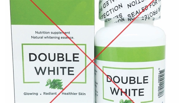3 website vi phạm khi quảng cáo Double White và Beauty Skin