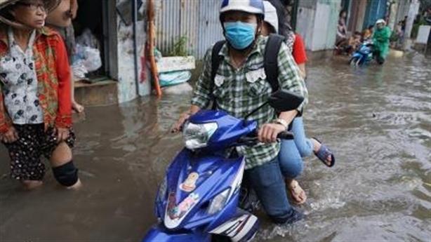 Chống ngập đường Nguyễn Hữu Cảnh: Chỉ đạo nóng
