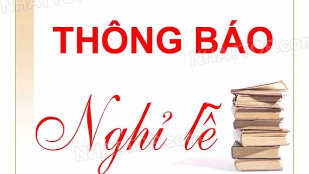 Việt Nam sẽ có thêm 1 ngày nghỉ lễ trong năm?