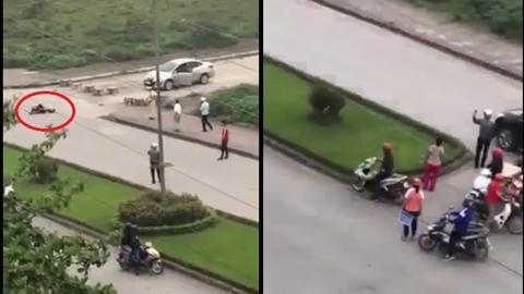 Gã trai đâm chết bạn gái: CSGT và dân không can ngăn