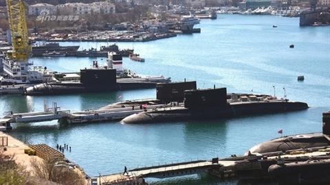 'Đột nhập' căn cứ tàu ngầm Nga tại bán đảo Crimea