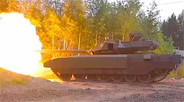 Tăng Armata bị vây kín bằng tên lửa Mỹ