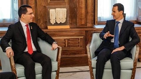 Syria đồng cảm với Venezuela: Liên minh chống Mỹ thành hình