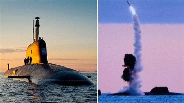 Tàu ngầm Yasen tấn công hủy diệt khi đậu tại cảng Syria