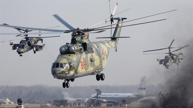 Mi-26T2V xứng danh 'Ngựa thồ trên không' số 1 thế giới