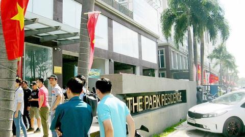 Chủ đầu tư The Park Residence bị phạt vì xây sai phép