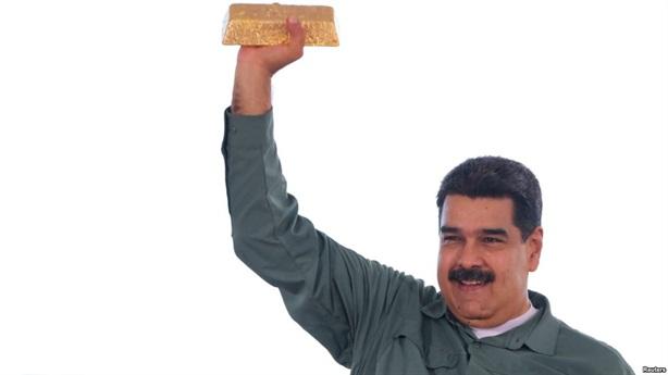 Venezuela không đòi được vàng đành bán kho dự trữ