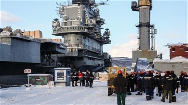 Bộ trưởng Quốc phòng Nga tuyên bố mới nhất về tàu Kuznetsov