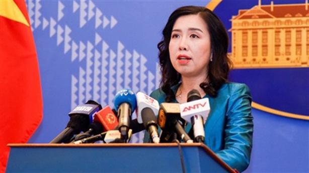 Xác minh tin giàn khoan Trung Quốc ở Vịnh Bắc Bộ