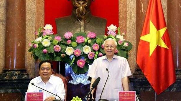 Tổng Bí thư, Chủ tịch nước:Văn hóa là nền tảng tinh thần