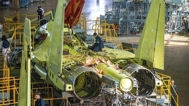Nga sẵn sàng cùng Thổ sản xuất Su-35