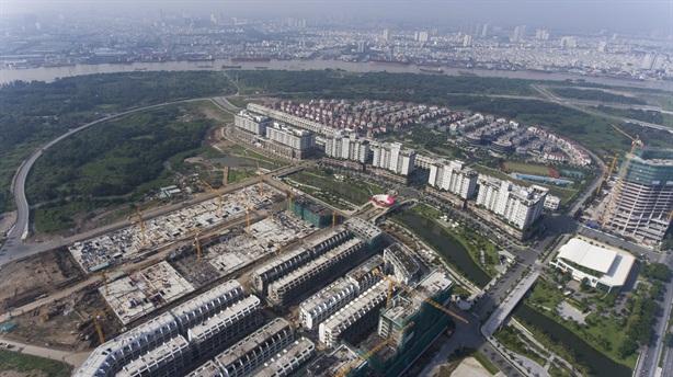 Đại Quang Minh làm hạ tầng 3 lô đất ở Thủ Thiêm