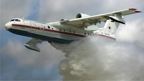 Siêu thủy phi cơ Nga 'nằm đất' vì thiếu động cơ Ukraine