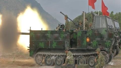 Việt Nam tự hành hóa thêm nhiều chủng loại pháo mặt đất