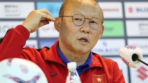Vụ lót đường SEA Games: Thầy Park lên tiếng thẳng thắn