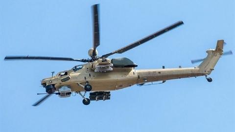 Trực thăng Mi-28NM sản xuất loạt đầu tiên của Nga cất cánh