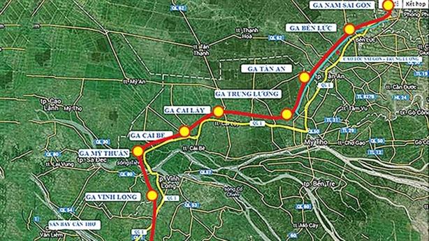 10 tỷ USD làm đường sắt cao tốc TP.HCM-Cần Thơ: Băn khoăn...