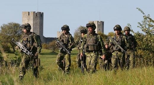 Tiếng súng Thụy Điển trên đảo Gotland