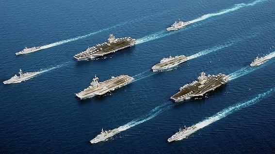 Sợ đòn Iran, 2 tàu sân bay Mỹ đến khẩn Trung Đông